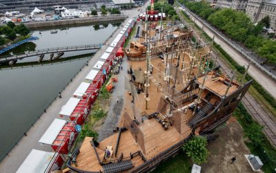 The Pirate Ship Obstacle Course is back in Old Montreal