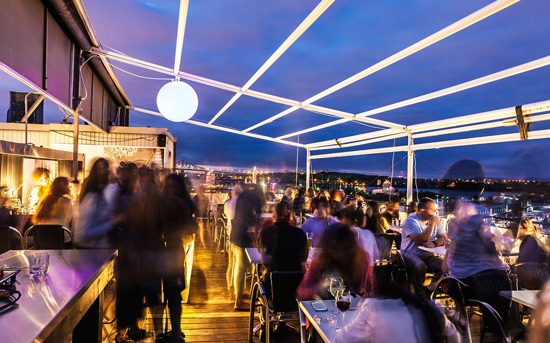 The 5 Hottest Montreal Rooftop Terraces for Summer 2017